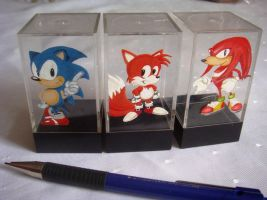 Sonic Dice-Boxes by Sega-Club-Tikal