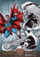 Superman the Legend - Vs Silver Banshee by tonyperna