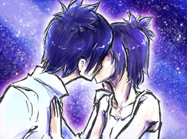 Starry Kiss by Kurozora-Konoi