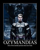Ozymandias Poster by TheWaffleMaiden