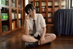 Akira Ijyuin - CLAMP School Detectives Cosplay by LadyOfBarians