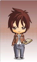 chibi light yagami by queenlisa
