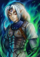 Fierce Deity Link by EternaLegend