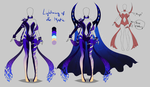 Outfit design - Lightning of the Mystic - closed by LotusLumino