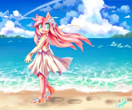 Beach Rose by Xtlus