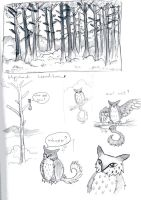2016 Jan sketchbook dump by DustDevil-UK