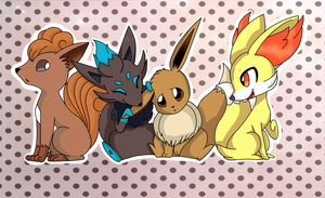 Foxy Pokemon Love by PlatinaSena