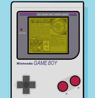 Rainmeter - Gameboy skin by FadyFTJ