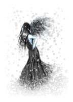 Black Angel Fades To Snow by Yorulla