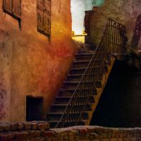 Grungy Present-stairs- by Campanile