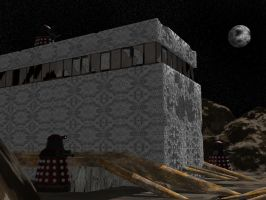 Three Dalek Moon by IcehawkPrime