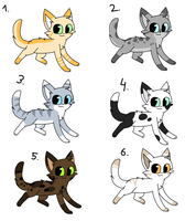 (tcol) adoptables closed :3 by MillyTheTigerKitten