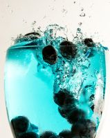 Blueberry Splash by ian-roberts