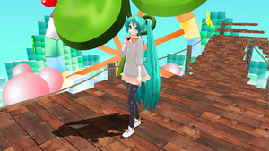 Stroll Miku by Haruhi-chan4ever