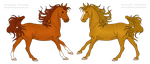 Gold Maple Breeding Pair by Blacksheep28