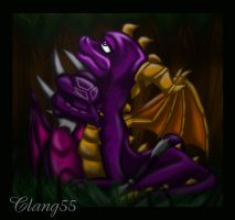 Spyro Cynder Close Up by Clang55