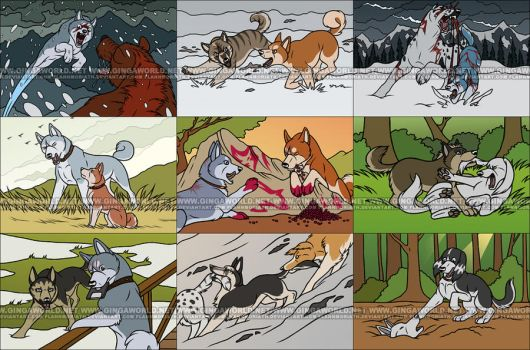 GingaWorld: Ginga Scenes by FlannMoriath