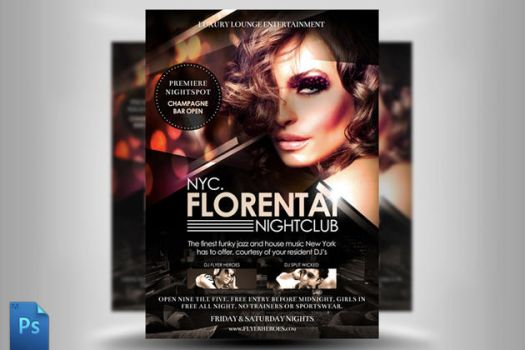 Florentai Flyer Template by quickandeasy1