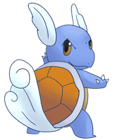 Wartortle by CleverConflict