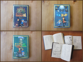 Professor Layton Novels by BenjaminHunter