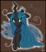 This Is Queen Chrysalis by Asikku