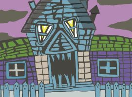 Haunted House by ceseme