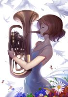 Euphonium by Lightning-Spirit