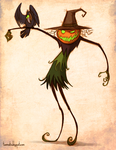 The Pumpkin Witch by Tanimatic