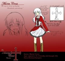 TMCC -  Maria Cross Reference by Shinigami-Mero-Chan