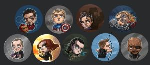 Avengers Assemble by perishing-twinkie