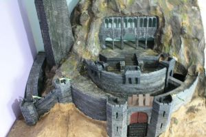Helm's Deep - Front View by Drumstick7