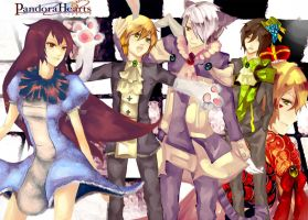Pandora Hearts by Leaping-Froggs