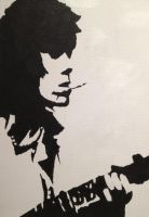 Keith Richards (The Rolling Stones) pop art by klaka97