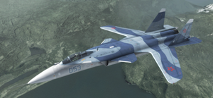Su-47 - Russian Air Force by Jetfreak-7