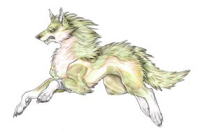 Wolf link by wang-POW