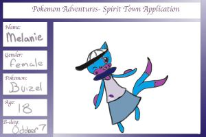 my app for pokemon adventure by Lilliathesexyflygon
