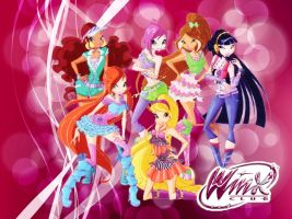 Winx Club Season 5 official trendy new! by AlexaSpears1333