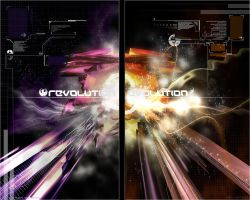 Revolution - Evolution -I- by waterwave