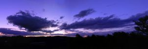 Sunset Beyond the Valley by AztecAngelo
