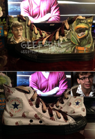 Little Shop of Horrors Converse by GeeFreak