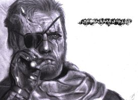 Metal Gear Solid 5 Venom Snake aka Big Boss by MauriceDiekmann