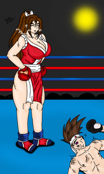 Mai vs Joe boxing by brunao2