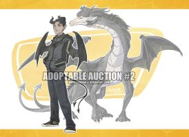 Adoptable Auction #2: Dragon Boy (Closed) by TheK40