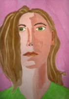 Expressive Self Portrait by faryewing