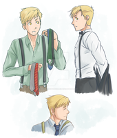 Alphonse Elric - Suspenders by Perfectlykawaii93