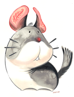 Chinchilla by Pocketowl