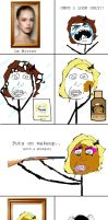 Rage Comic - Really, Girls? Really? by MrJak