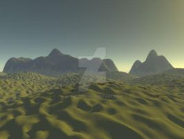 Sunset on Arrakis by Anarloth
