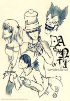 Death Note in Wonderland by DysfunctionalHuman