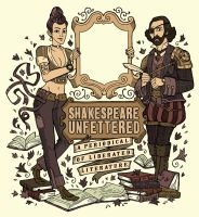 Shakespeare Unfettered Masthead by mscorley